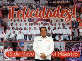 Felicita Profesor Nicolás Gutiérrez a maestros