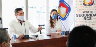 En sesión de la Mesa de Seguridad celebrada en el municipio de Loreto, donde se contó con la presencia de la alcaldesa, Arely Arce Peralta