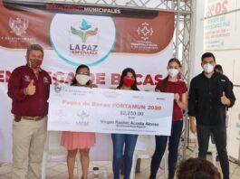 Ayuntamiento paceño inicia el proceso de entrega de las Becas Fortamun 2020